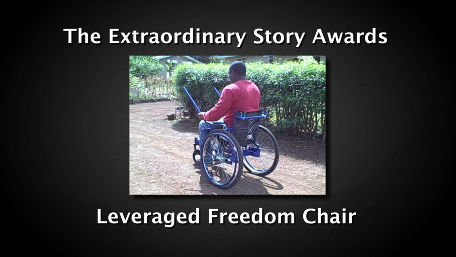 Leveraged Freedom Chair olin college, wellesley college & babson collegethe leveraged